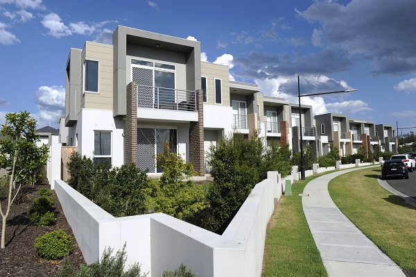 New medium density development in Western Sydney