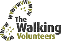 The Walking Volunteers logo (200px w)