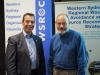 WSROC CEO, Charles Casuscelli RFD and Greater Sydney Commission Environment Commissioner, Roderick Simpson.