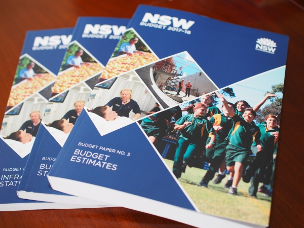 2017-18 NSW Budget papers