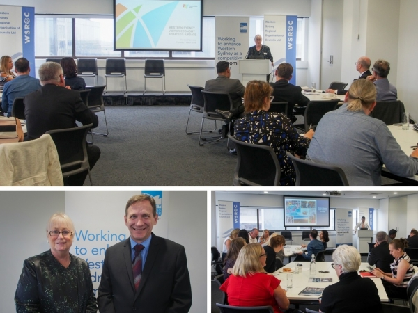 Western Sydney councils gather for Visitor Economy Strategy briefing with Destination NSW, NSW Business Chamber and Western Sydney Business Connection.
