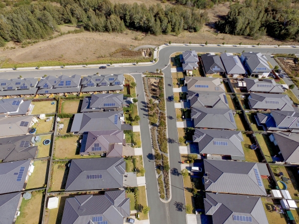 New housing estate in Sydney's north west